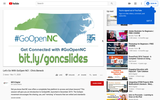 Let's Go With GoOpen NC! by Mollee Holloman and Chris Beneck