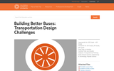 Building Better Buses: Transportation Design Challenges